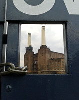 battersea Power Station Framed